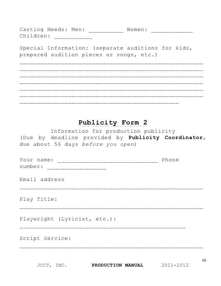 Film Actor Contract Template