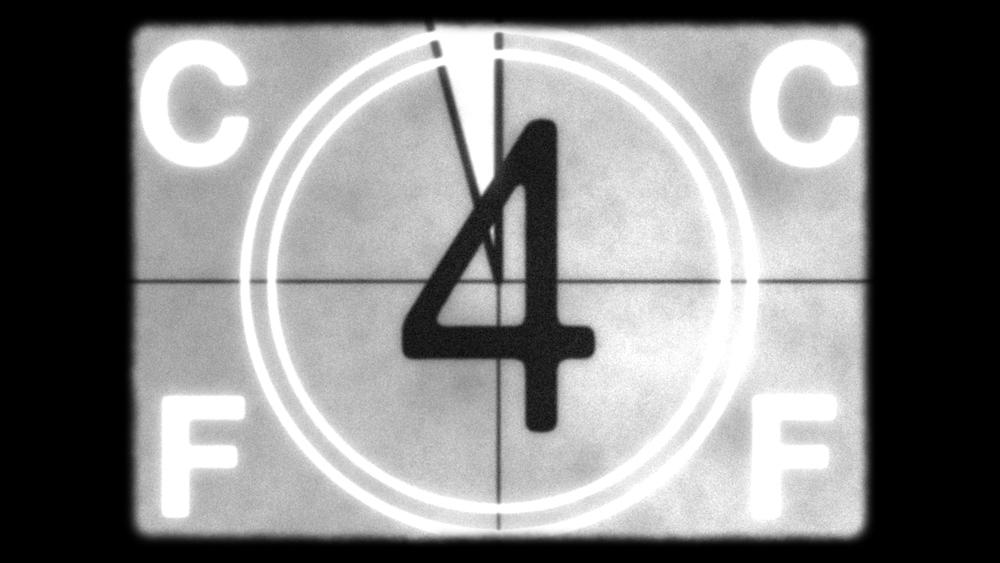 Film Countdown After Effects Template