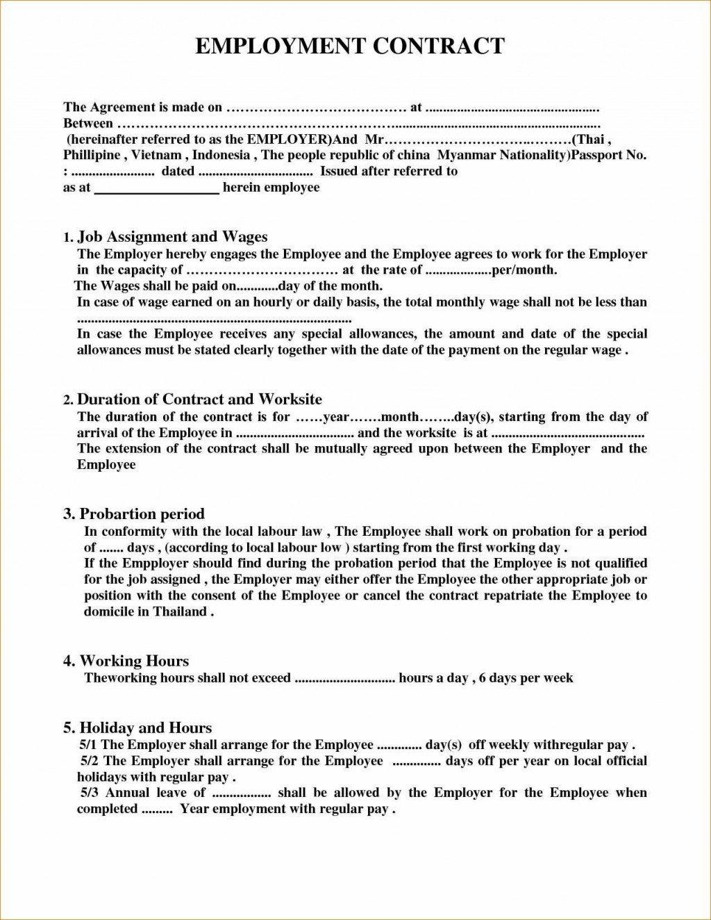 Film Distribution Contract Template