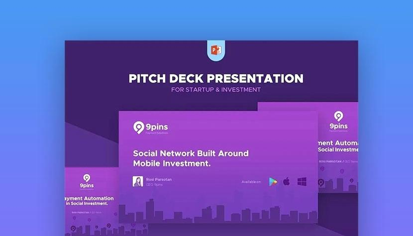 Film Pitch Powerpoint Template