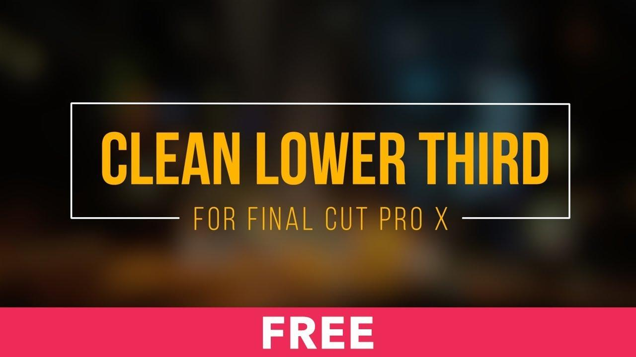 Final Cut Pro X Trailer Templates