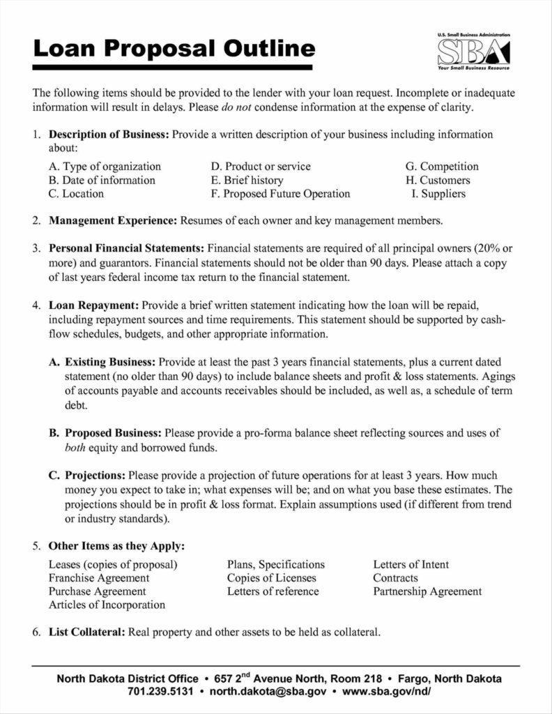 Financial Business Proposal Template