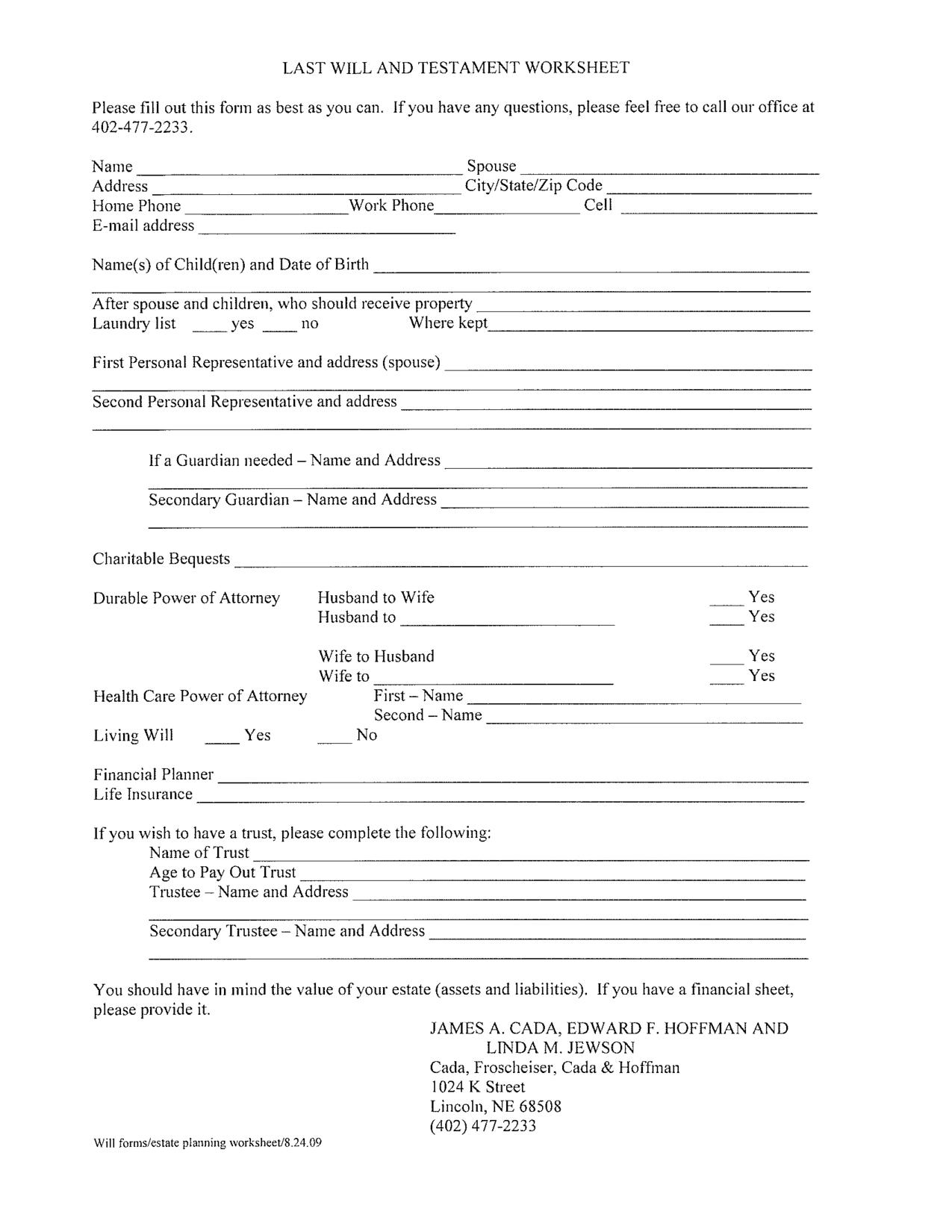 Financial Power Of Attorney California Template