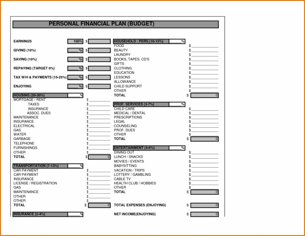 Financial Projections For Startup Business Plan Excel Template