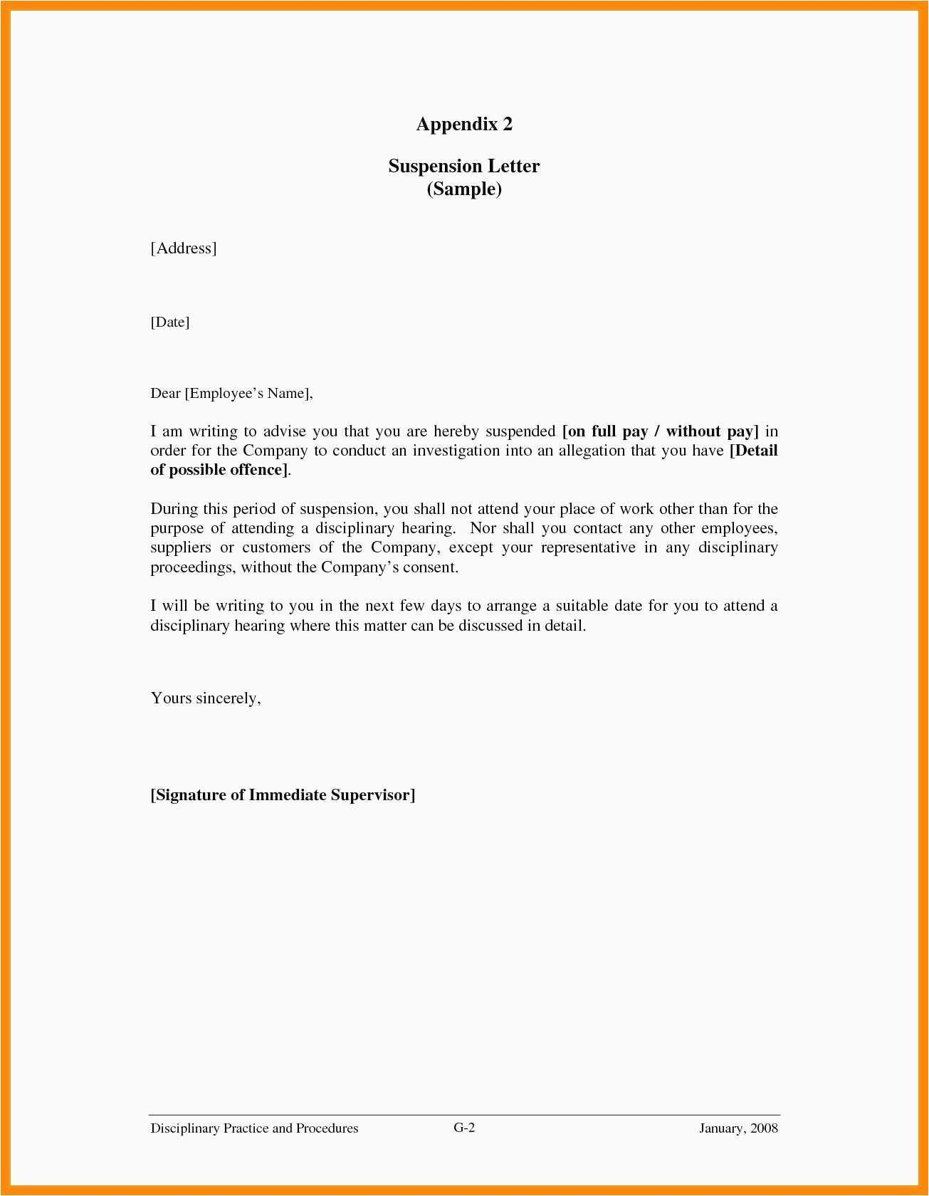 Financial Support Proposal Template