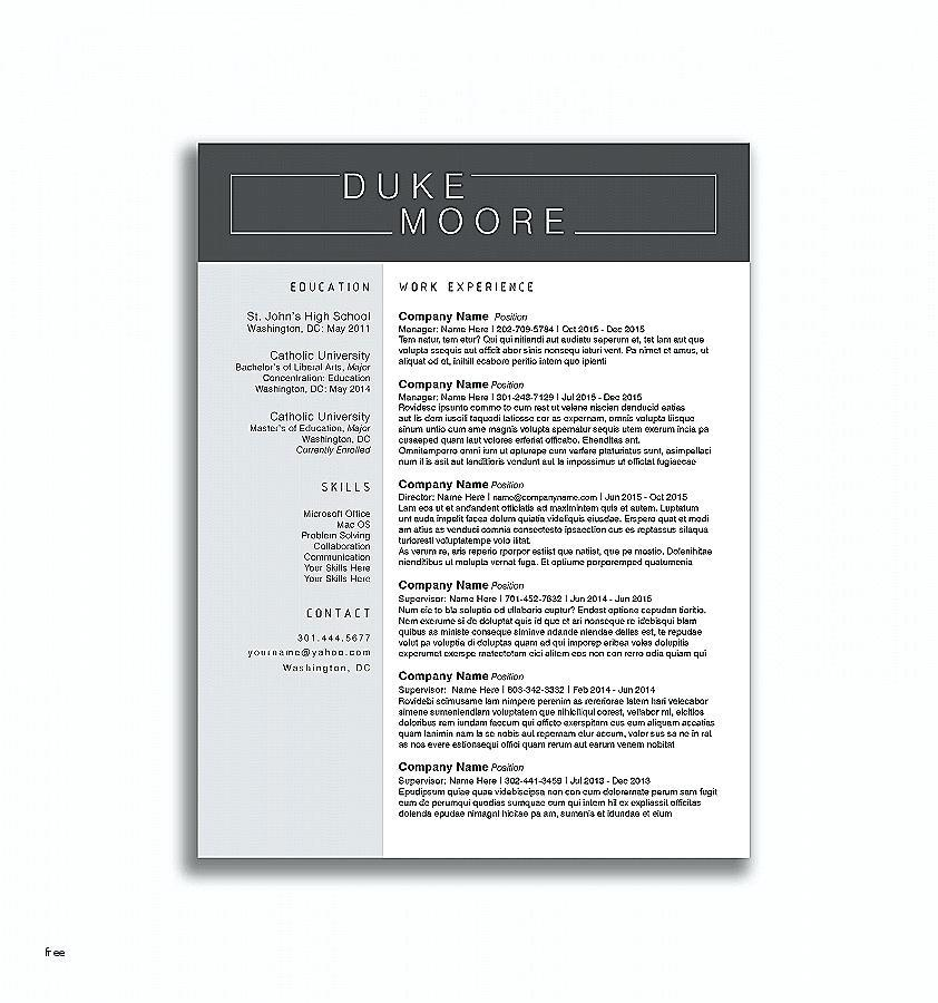 Find Resume Template Word 2010