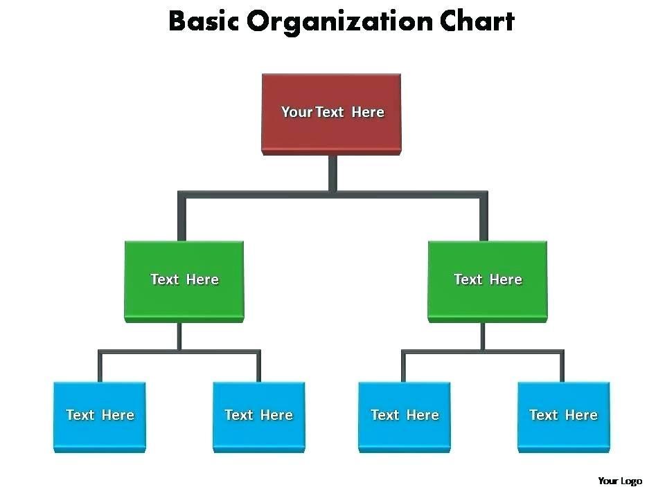 Fire Department Organizational Chart Template Word