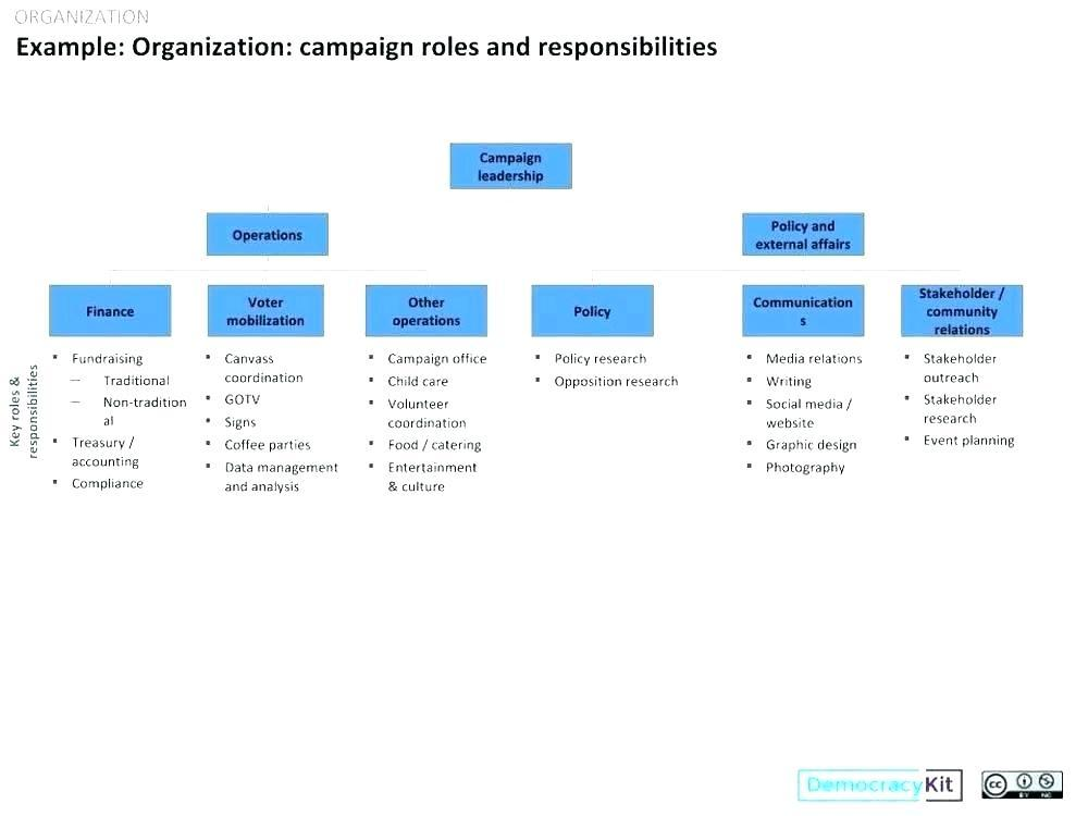 Fire Department Organizational Chart Template