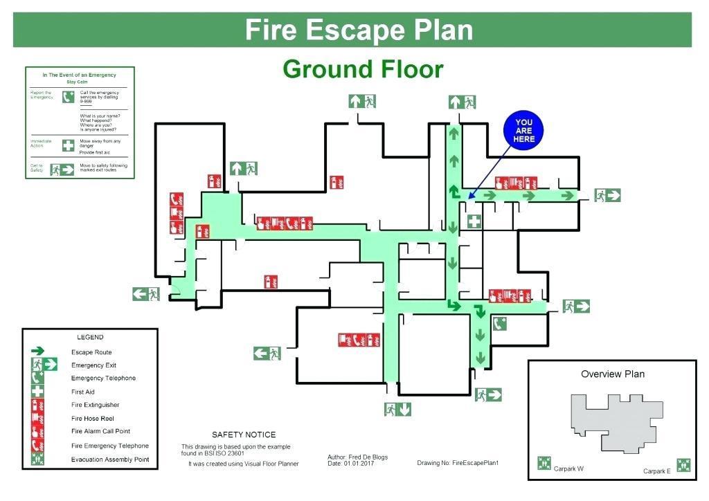 Fire Evacuation Plan Template Ontario