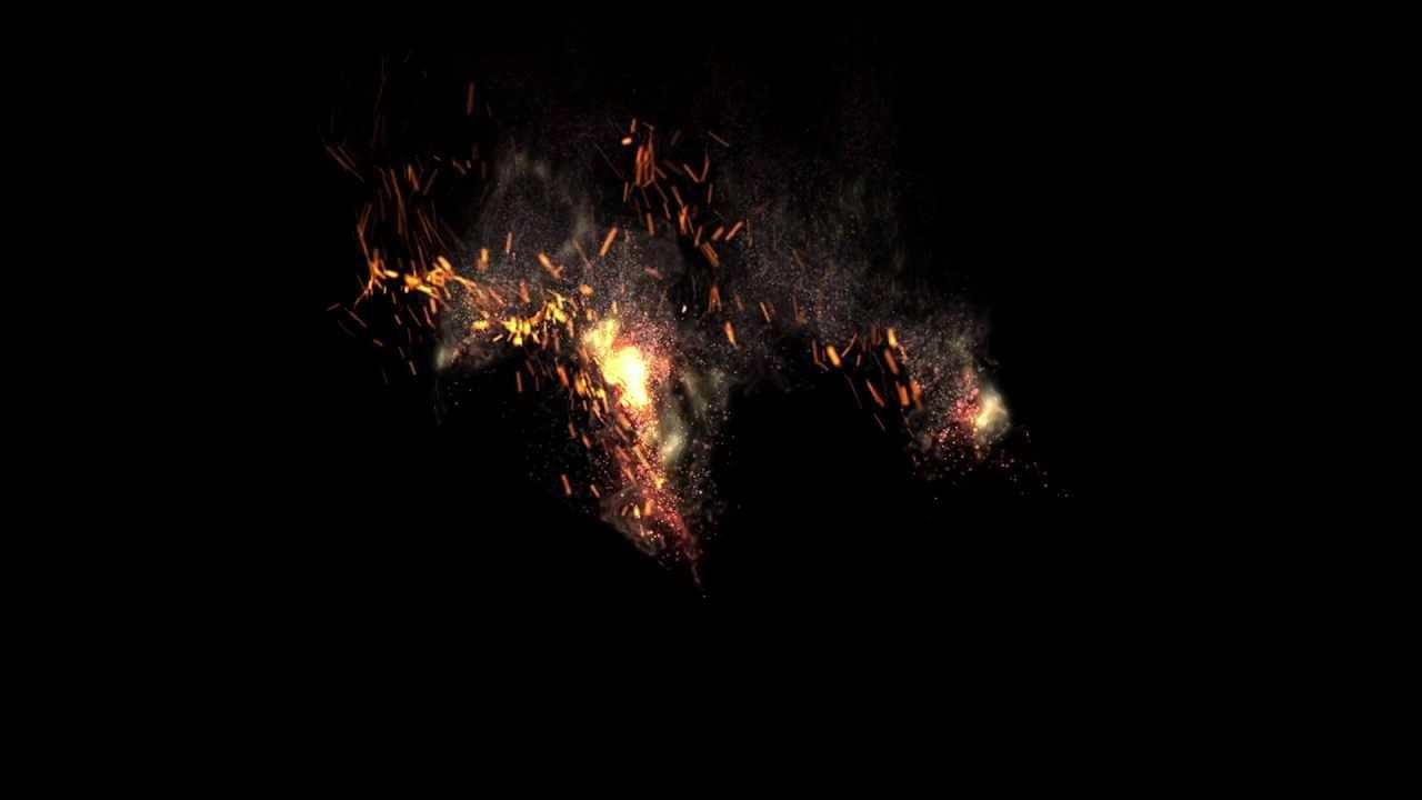 Fire Particles After Effects Template Free