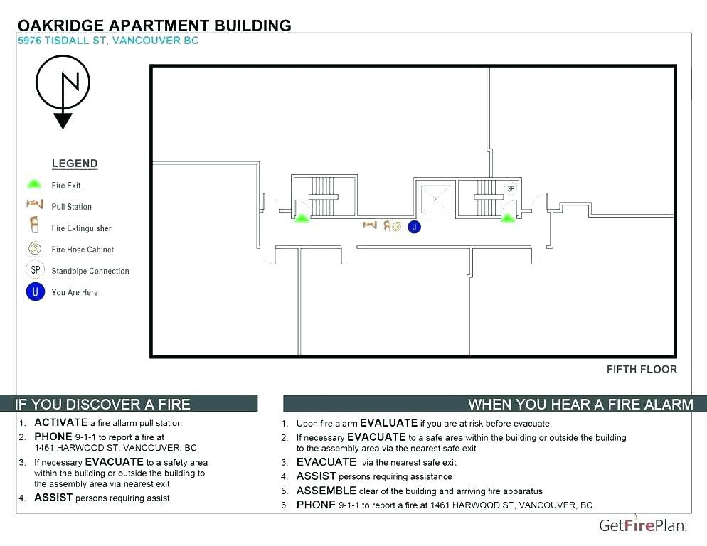 Fire Safety Evacuation Plan Template