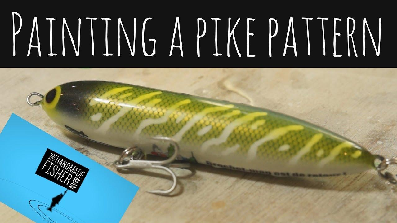 Fishing Lure Painting Templates