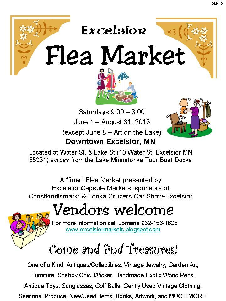 Flea Market Flyer Template