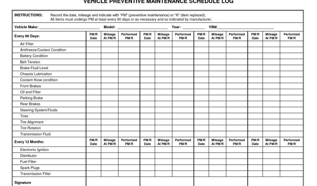 Fleet Maintenance Proposal Template