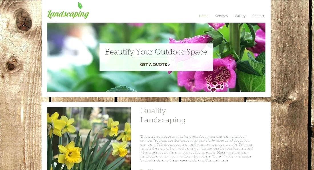 Florist Website Templates Free Download