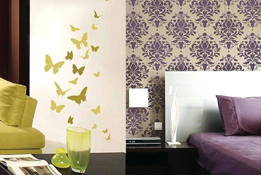 Flower Stencil Designs For Walls