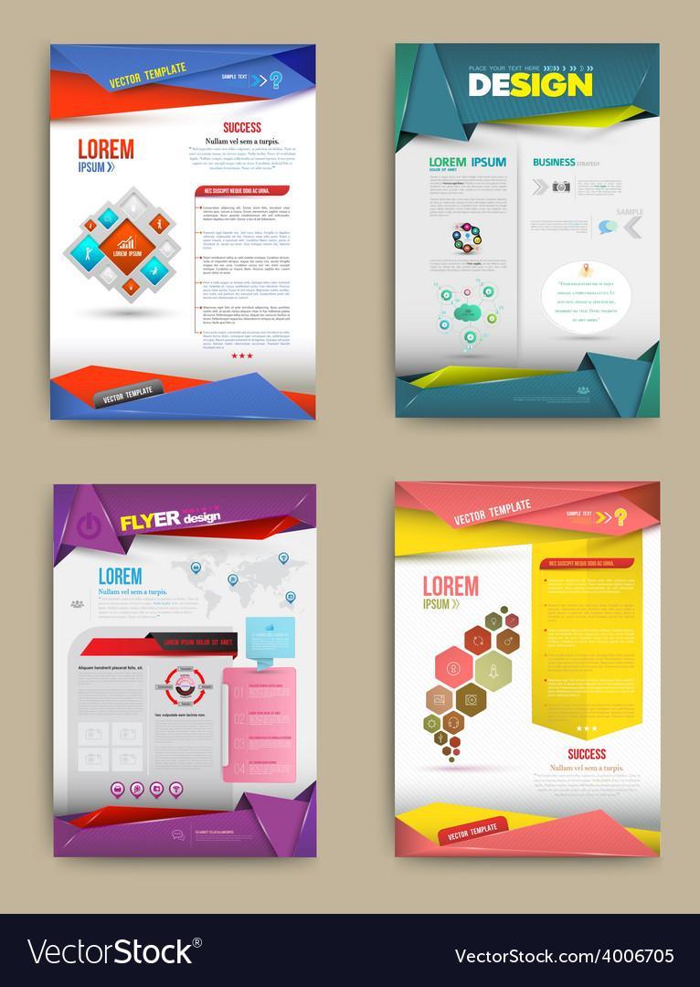 Flyer Brochure Design Templates