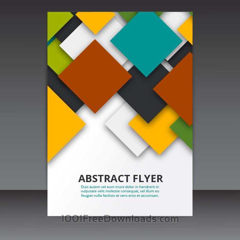 Flyer Templates Free Download Vector