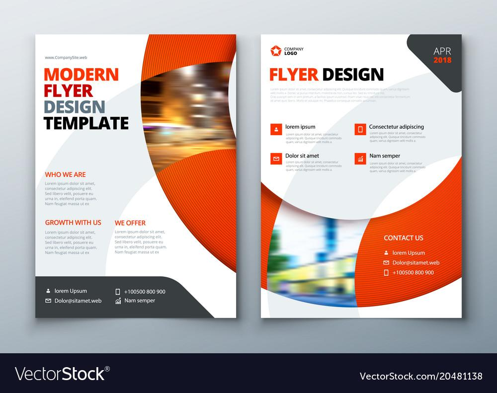 Flyer Vector Design Templates Free Download