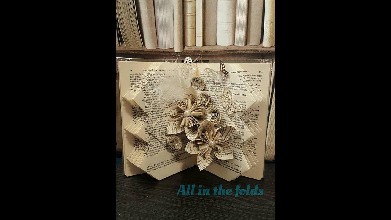 Folded Book Art Patterns Youtube