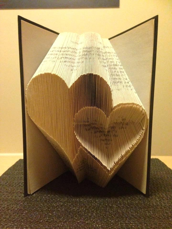 Folded Book Art Word Templates