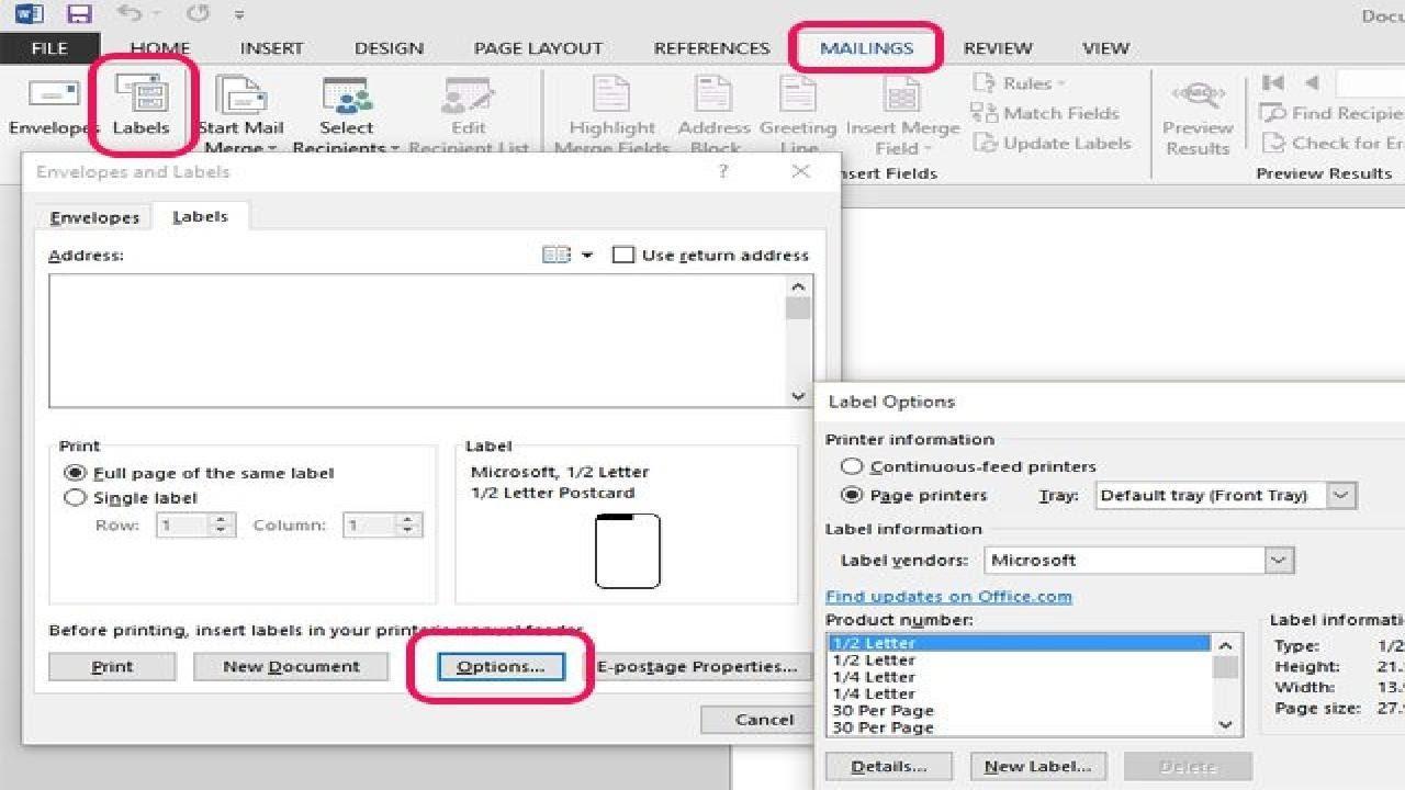 Folder Labels Microsoft Word
