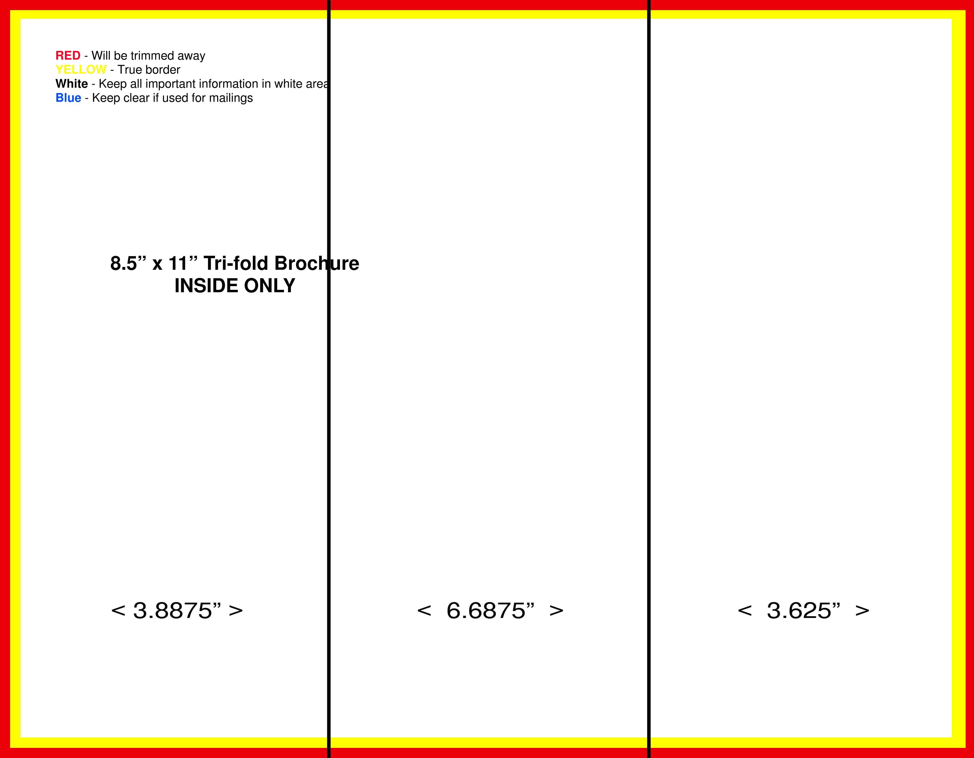 Folding Brochure Template Google Docs