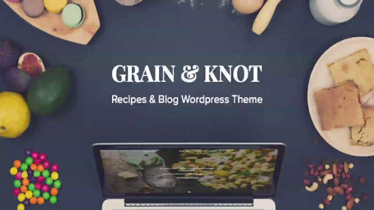 Food Blog Website Templates