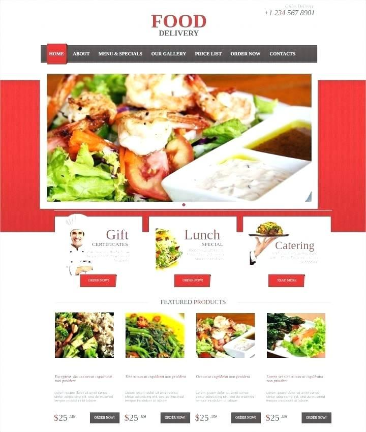 Food Websites Templates Free Download