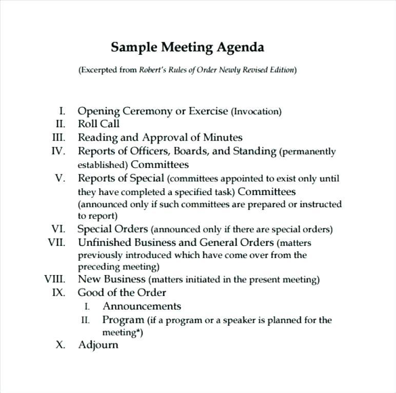 Football Club Meeting Minutes Template