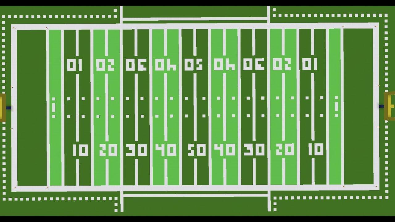 Football Field Templates