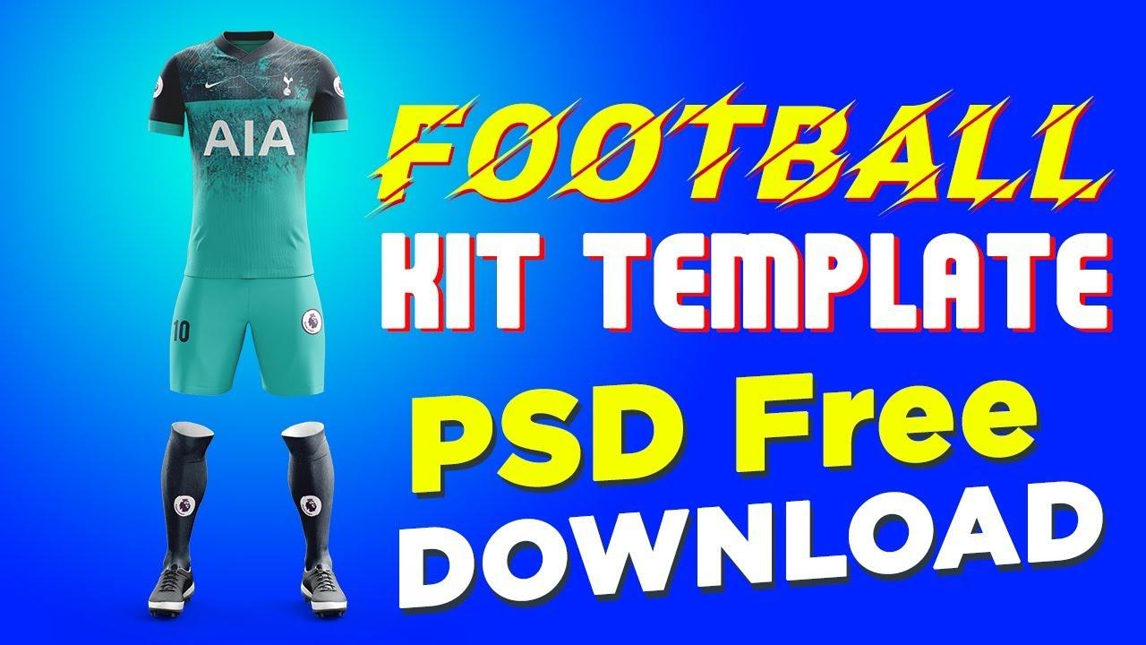Football Kit Design Template Psd