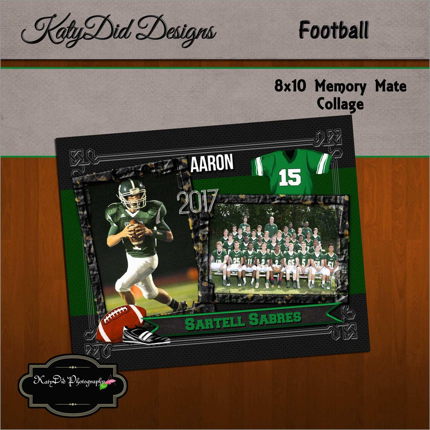 Football Memory Mate Templates Free