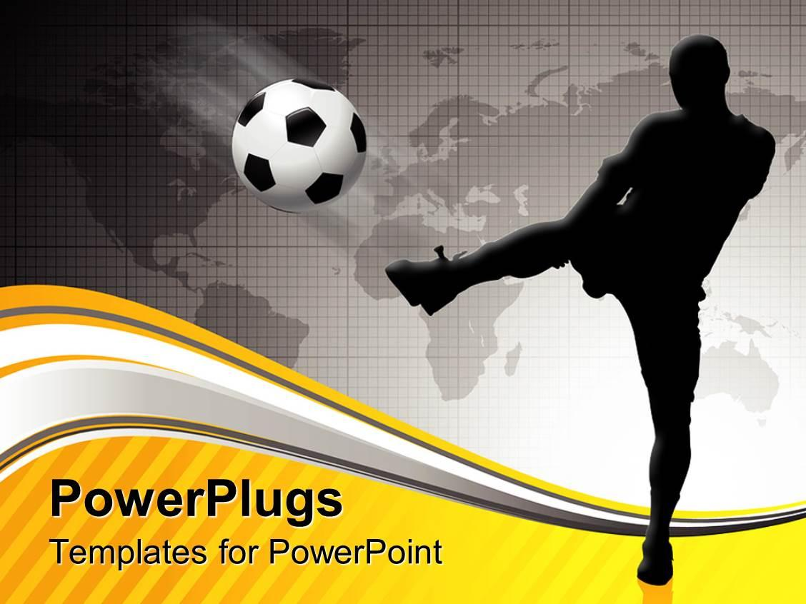 Football Pitch Powerpoint Template
