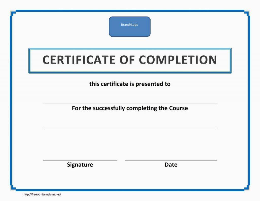 Forklift Certification License Template