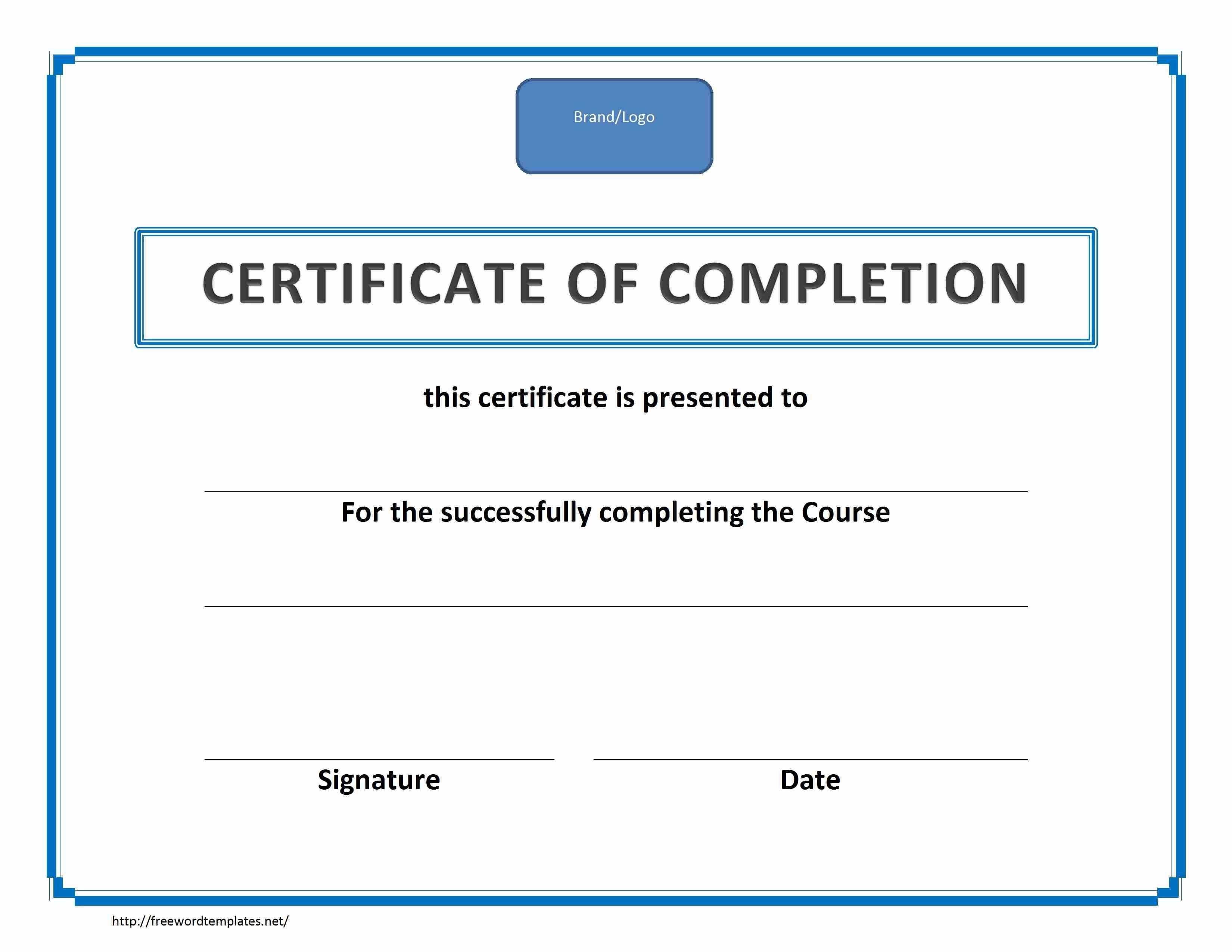 Forklift Operator Certification Template
