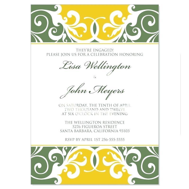 Formal Party Invitation Templates