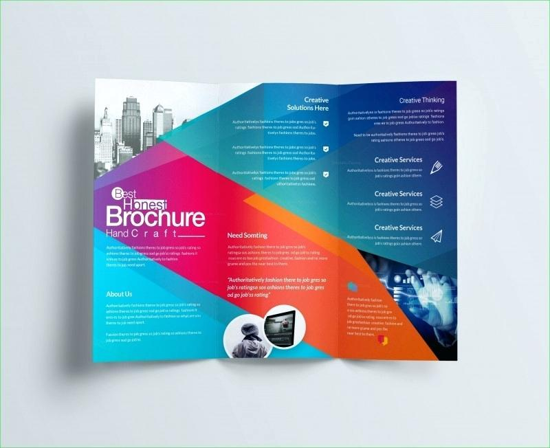 Four Fold Brochure Template Illustrator