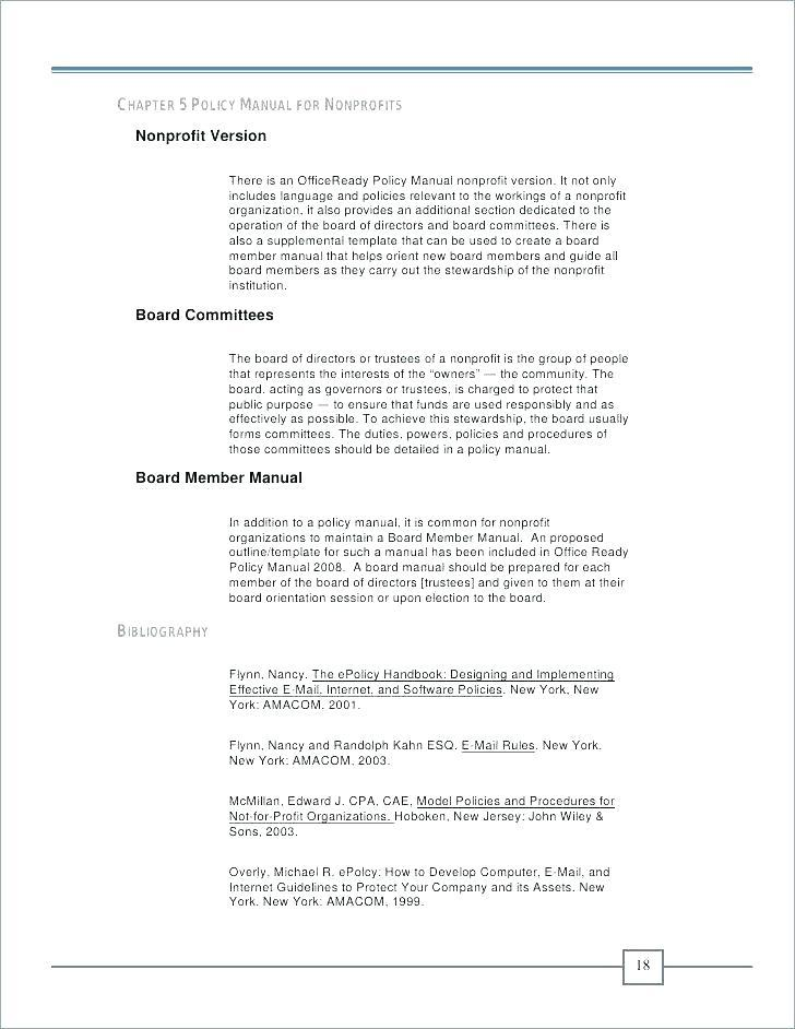 Franchise Operations Manual Template Free