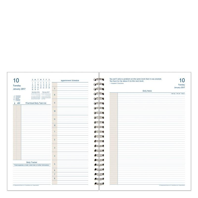 Franklin Covey Weekly Compass Template