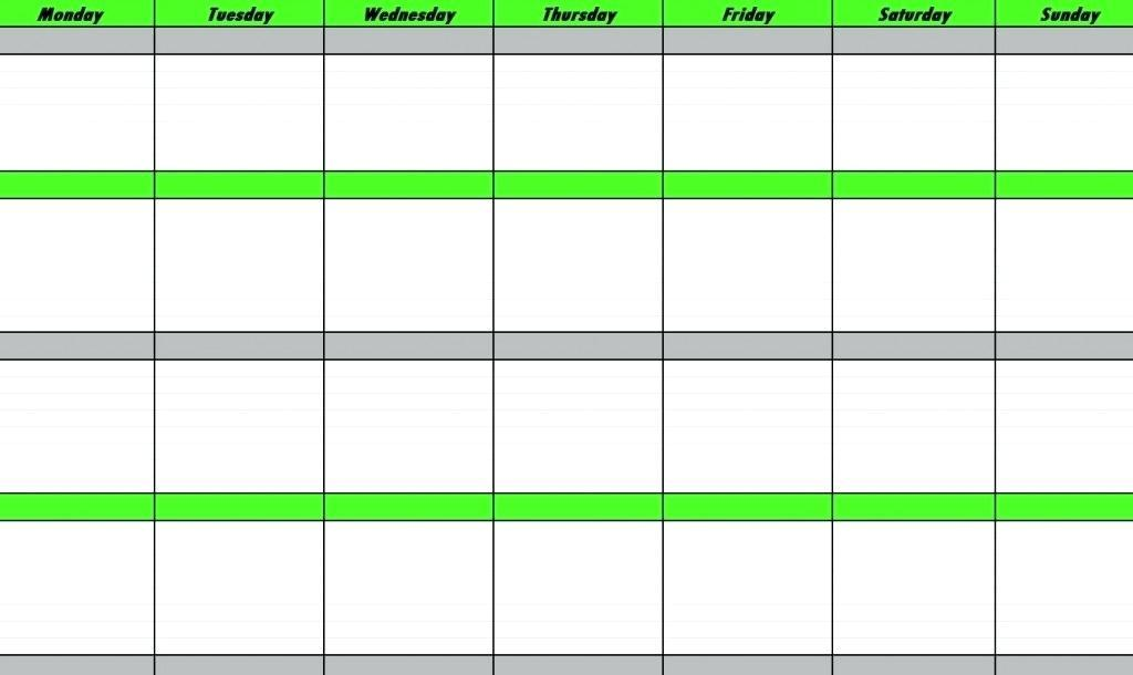 Free 24 Hour Time Schedule Template