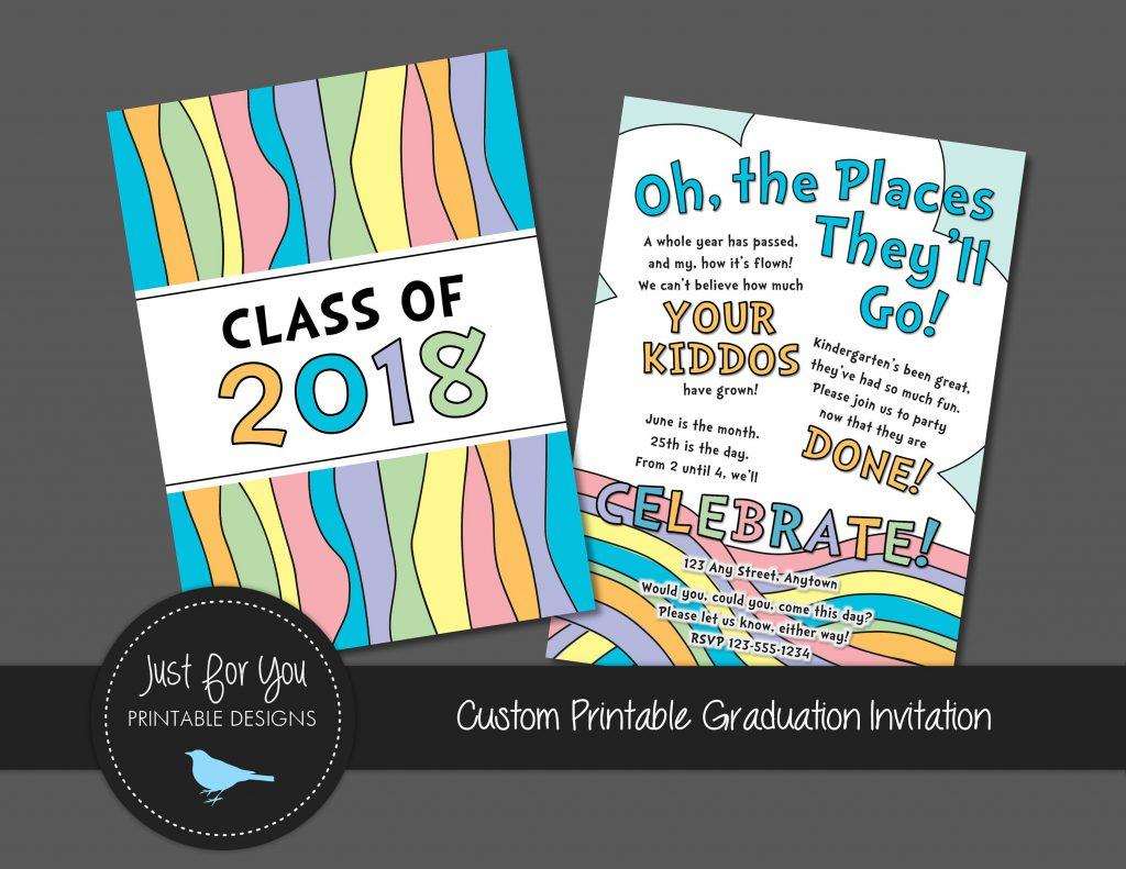 Free 4×6 Graduation Party Invitation Templates