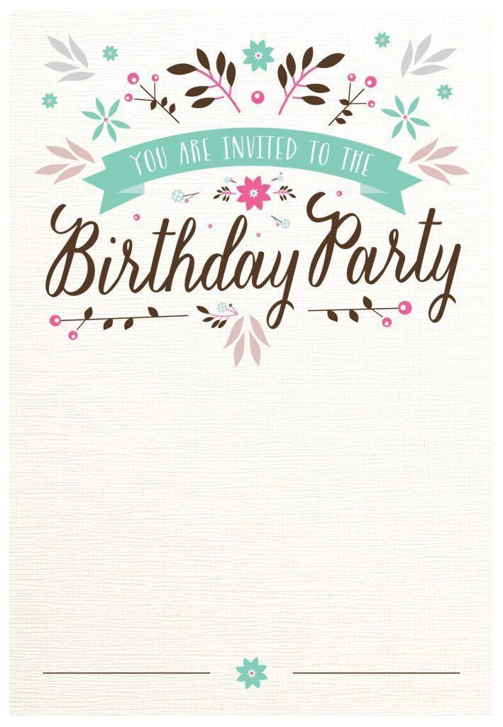 Free 60th Birthday Invitation Maker