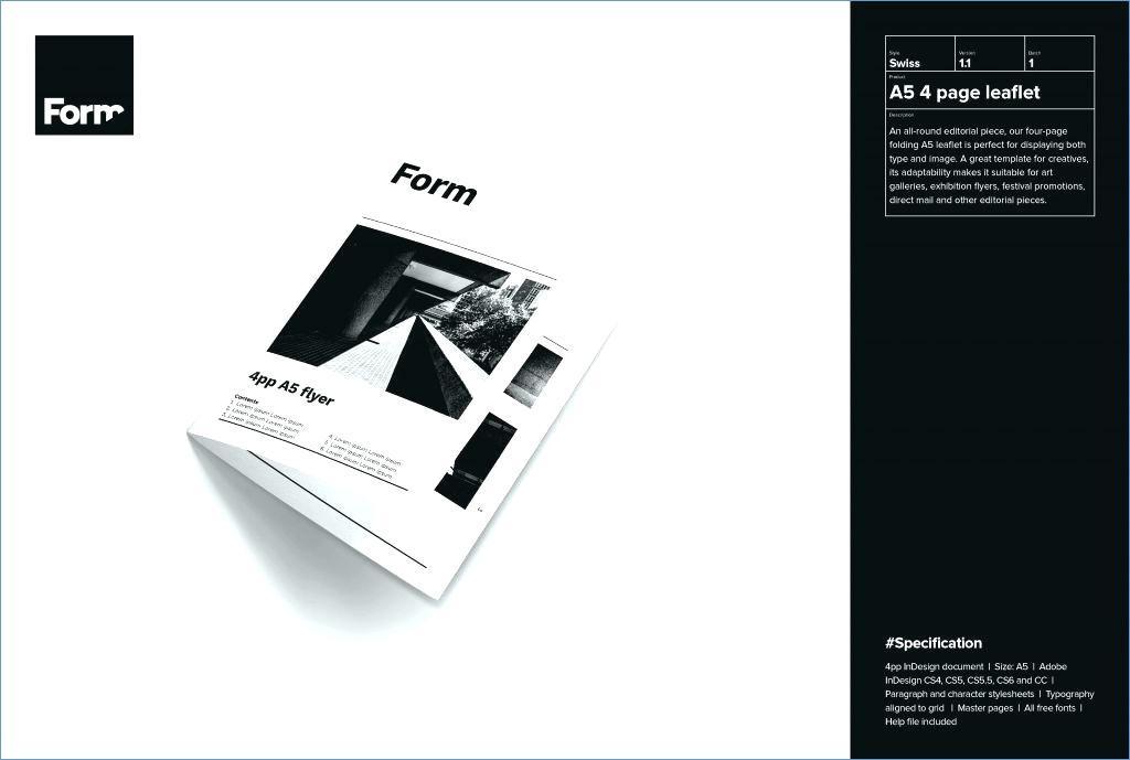 Free Adobe Indesign Brochure Templates