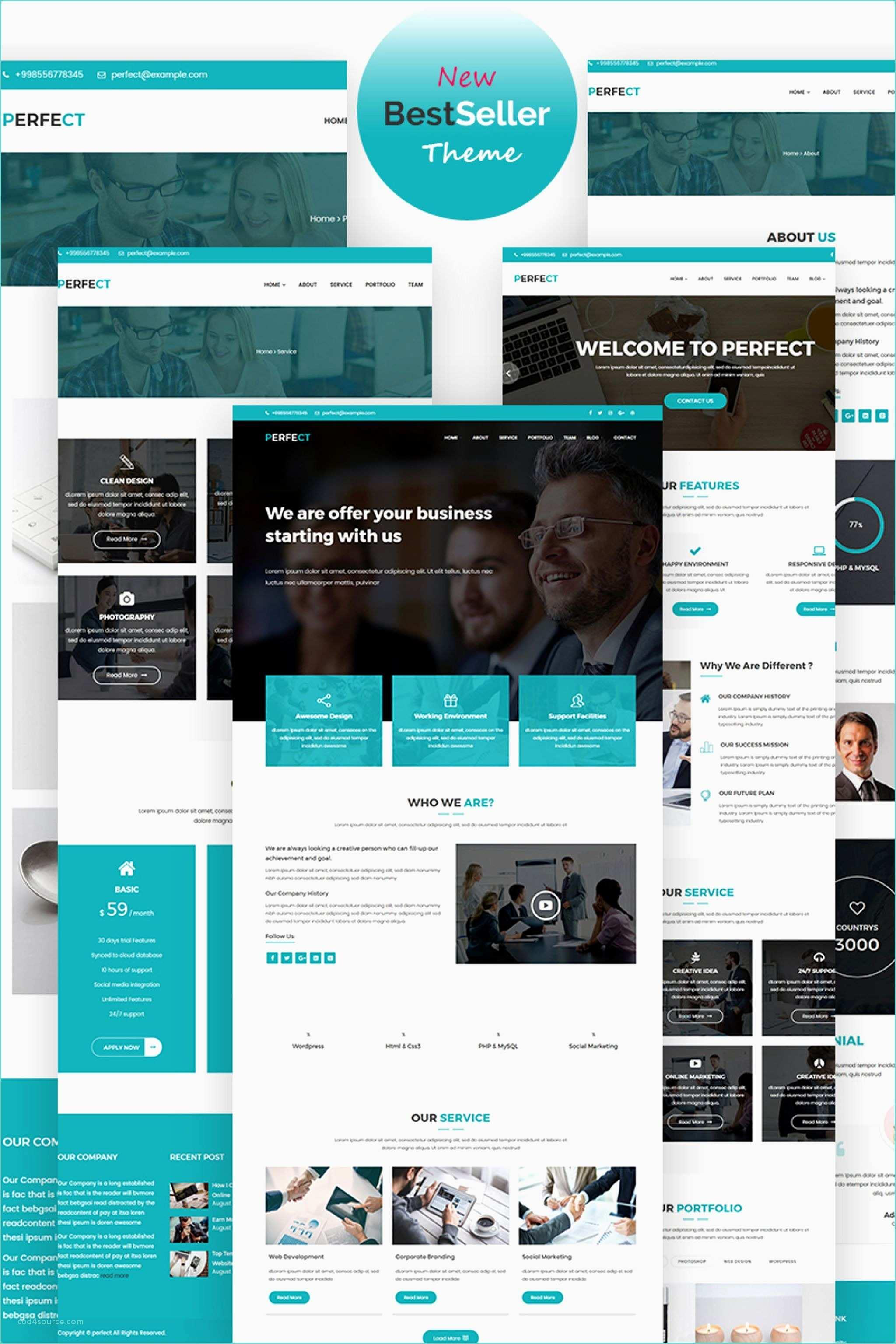 Free Adobe Muse Website Templates