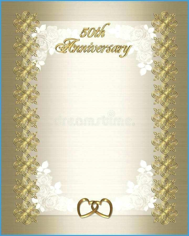 Free Anniversary Invitation Templates