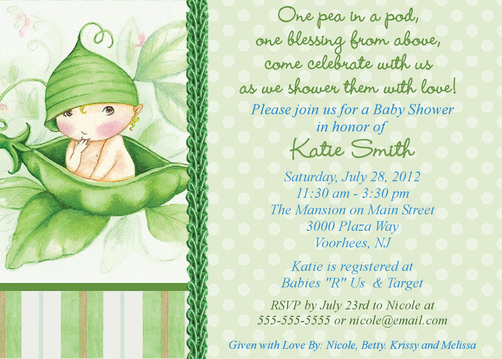 Free Baby Shower Invitations Online Templates