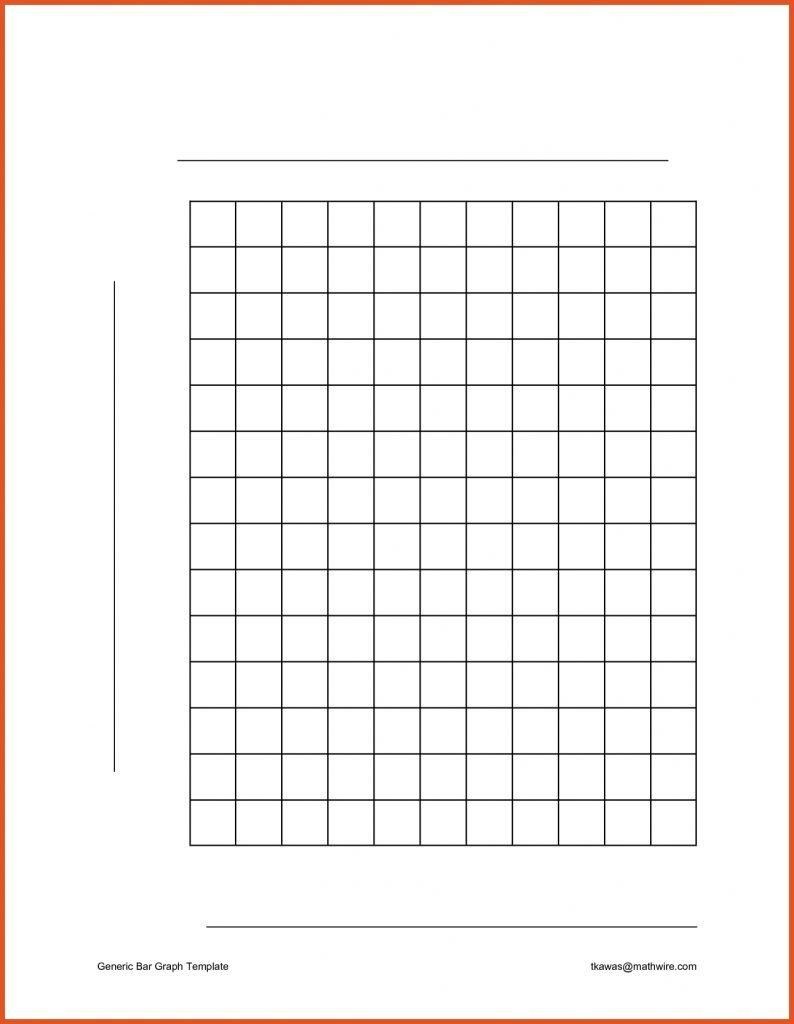 Free Bar Graph Templates Word