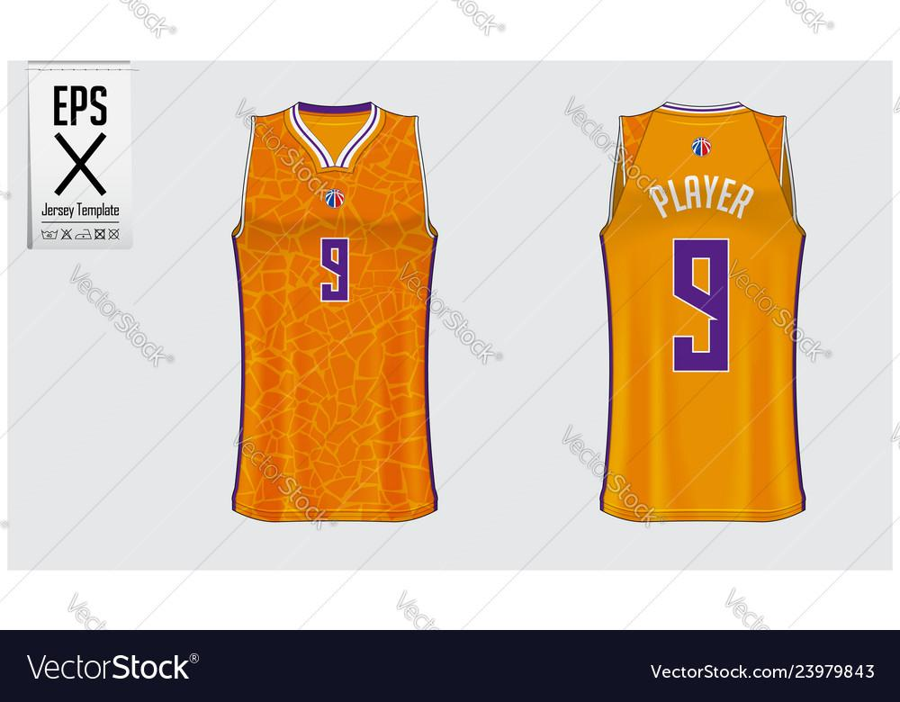 Free Basketball Uniform Design Template