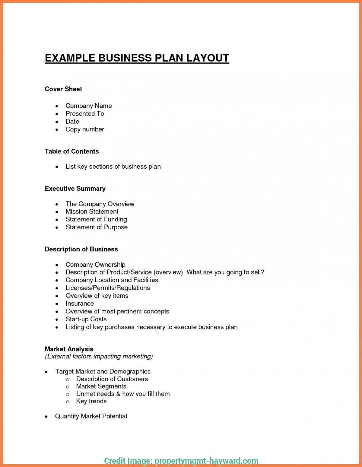 Free Beauty Spa Business Plan Template